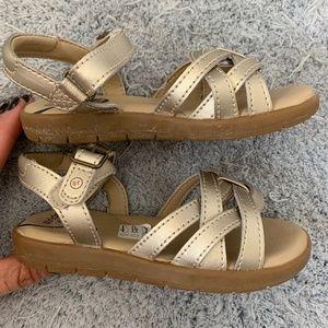 Stride Rite Millie (Toddler) gold sandal